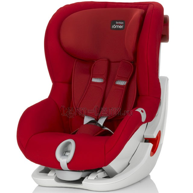 Britax Romer King II flame red