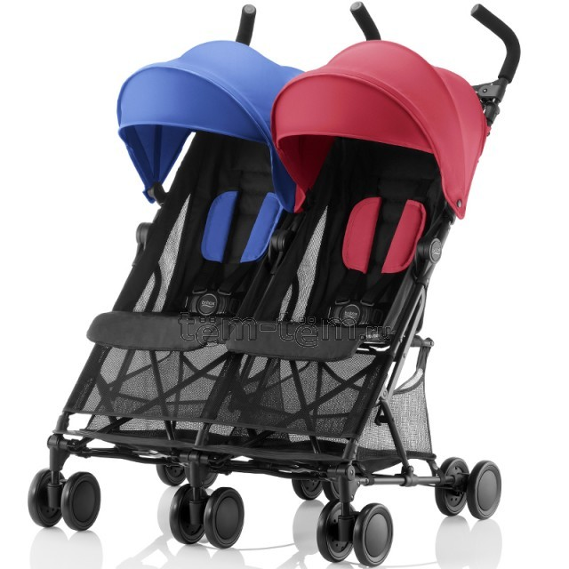 Britax Holiday Double flame red-ocean blue