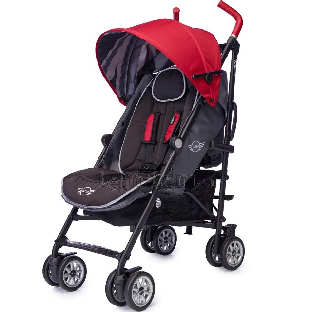 EasyWalker Mini Buggy union red limited edition