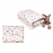 Одеяло с подушкой Daisy Улитки
