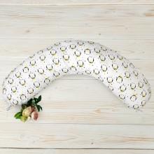 Подушка для кормления AmaroBaby Пингвины 170х25 см