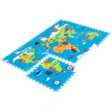 Игровой коврик Mambobaby Карта мира. Характеристики.