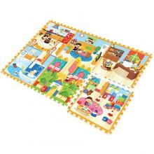 Игровой коврик Mambobaby Семейный дом. Характеристики.