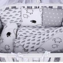 Комплект постельного белья AmaroBaby GOOD NIGHT Premium 19 предметов