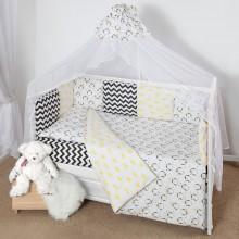 Комплект постельного белья AmaroBaby Пингвины Premium 19 предметов