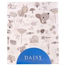 Daisy простыня на резинке Улитки