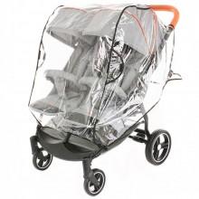 Дождевик BamBola универсальный на коляску для двойни