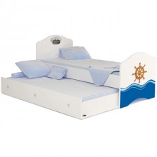 Подростковая кроватка Advesta Ocean классика для двоих детей. Характеристики.