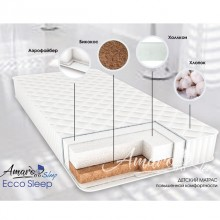 Матрас AmaroBaby Ecco Sleep 120x60. Характеристики.