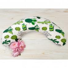 Подушка для кормления AmaroBaby Кактусы 170х25 см