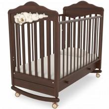 Детская кроватка качалка Angela Bella Изабель