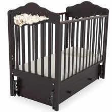 Детская кроватка Angela Bella Изабель с маятником