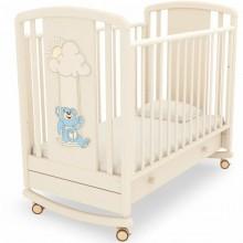 Детская кроватка качалка Angela Bella Жаклин Мишка на качелях