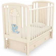 Детская кроватка Angela Bella Жаклин Мишка на качелях с маятником