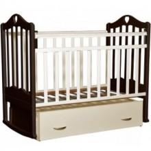Кроватка для новорожденного Антел Каролина 4 поперечный маятник. Характеристики.