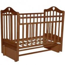 Кроватка для новорожденного Антел Каролина 5 продольный маятник. Характеристики.