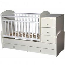 Кроватка для новорожденного Антел Ульяна 1 маятник. Характеристики.