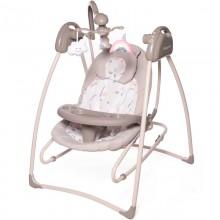 Электрокачели Baby care Butterfly 2в1 с адаптером