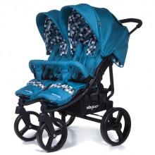 Коляска для двойни Baby care Cruze DUO. Характеристики.