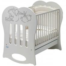 Кроватка для новорожденного Baby Italia Crystal. Характеристики.