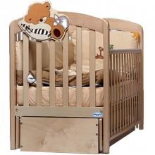 Кроватка для новорожденного Baby Italia Leo - маятник. Характеристики.