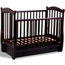 Детская кроватка с маятником Baby Luce Карамелька
