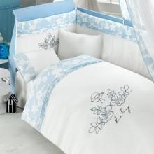 Комплект постельного белья Bebe Luvicci Baby Birdie 6 предметов