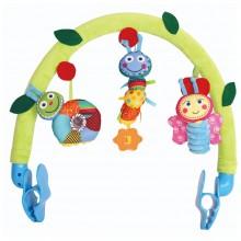 Дуга с игрушками Biba Toys Счастливые Гусениски