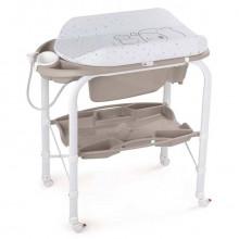 Пеленальный столик с ванночкой CAM Cambio