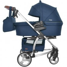 Легкая коляска для новорожденного Carrello Vista 2 в 1