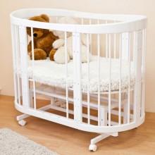 Кроватка для новорожденного Ceba-Baby Паулина 8в1. Характеристики.