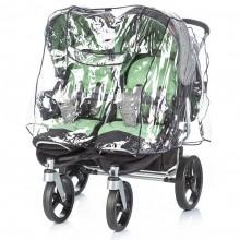 Дождевик для коляски для двойни Chipolino dkt0004