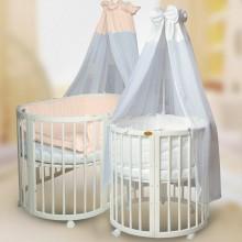 Кроватка для новорожденного ComfortBaby SmartGrow 7в1. Характеристики.