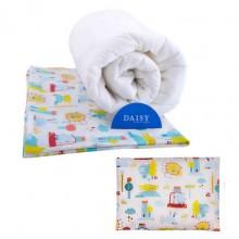 Daisy Одеяло с подушкой Машинки