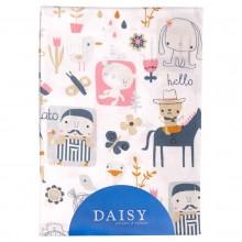 Daisy простыня на резинке Лошадки