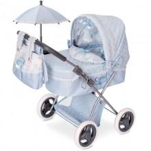 Коляска для кукол Decuevas Кэрол с сумкой и зонтиком 60см