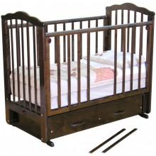 Кроватка для новорожденного Можга Элина С 669 (поперечный маятник). Характеристики.