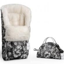 Комплект Esspero Конверт Icelandic Sheep Flowers + сумка для мамы