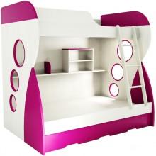 Двухъярусная кроватка Fema Baby Романо. Характеристики.