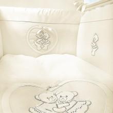 Комплект в кроватку Feretti Chaton 6 предметов. Характеристики.