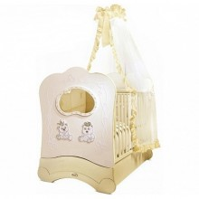 Кроватка для новорожденного Feretti Majesty FMS Oblo Brillante. Характеристики.
