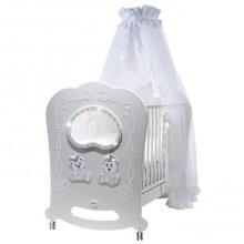 Кроватка для новорожденного Feretti Majesty Oblo Brillante. Характеристики.