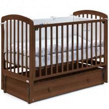 Детская кроватка с маятником Fiorellino Tina 120х60 см