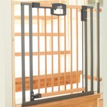 Ворота безопасности на лестницу Geuther Easylock Wood Plus 84,5-92,5х81,5 см