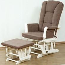 Кресло качалка с пуфиком Giovanni Sonetto