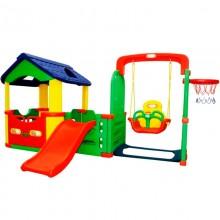 Игровой комплекс Happy Box Мульти-Хаус (арт.JM-804В)