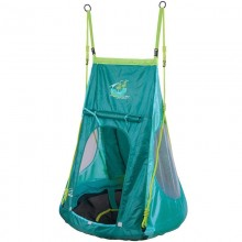 Качели детские Hudora Гнездо с палаткой 90см