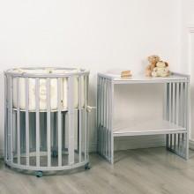 Овальная кроватка Incanto Amelia 8в1