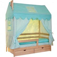 Подростковая кроватка Incanto Dream Home с комплектом текстиля Домик