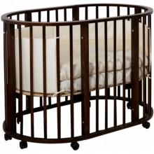 Кроватка для новорожденного Incanto Gio 7в1. Характеристики.